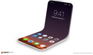 Foldable iPhone 8 Concept Image