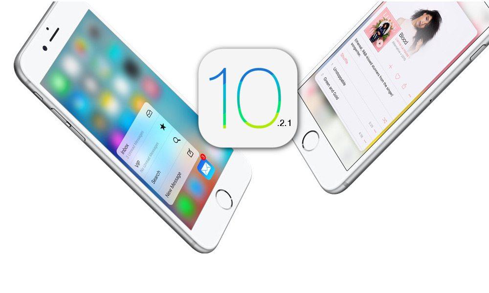 iPhone Running iOS 10.2.1
