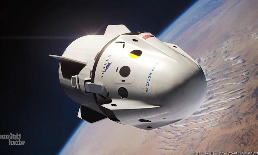 SpaceX to Send Two Tourists Around the Moon in 2018