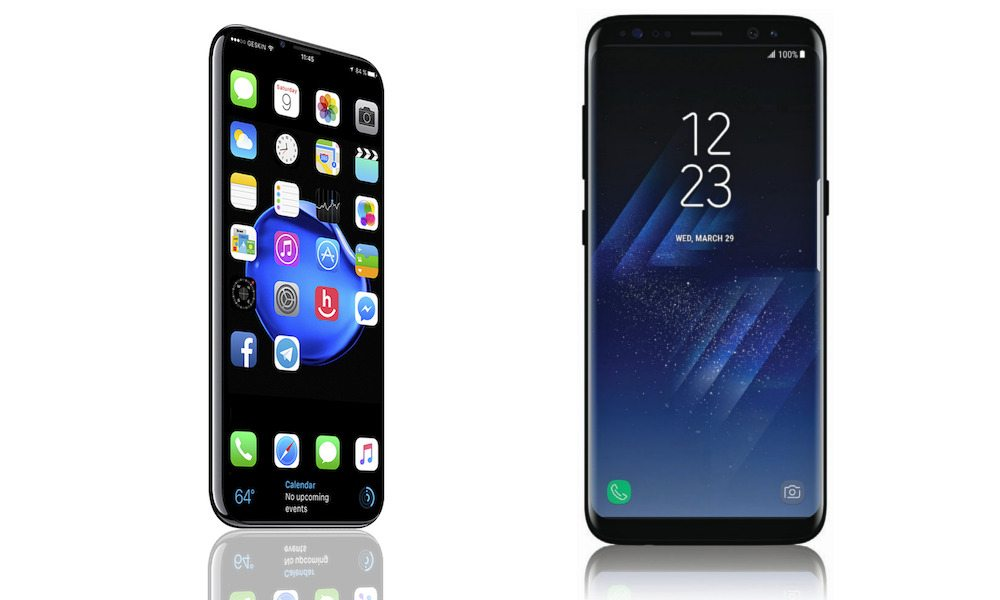 iphone x & samsung s8