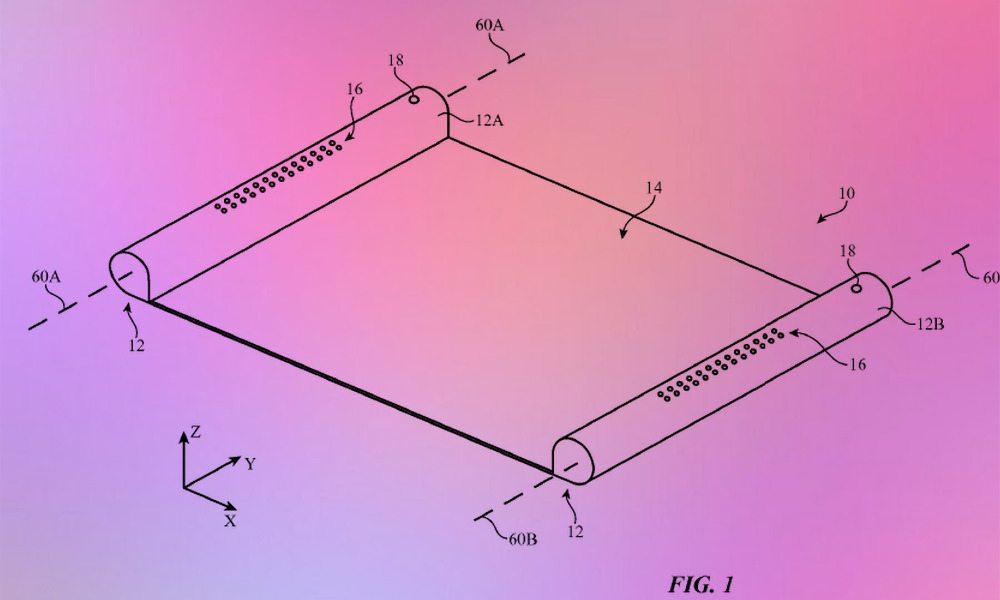 iPhone Scroll Patent