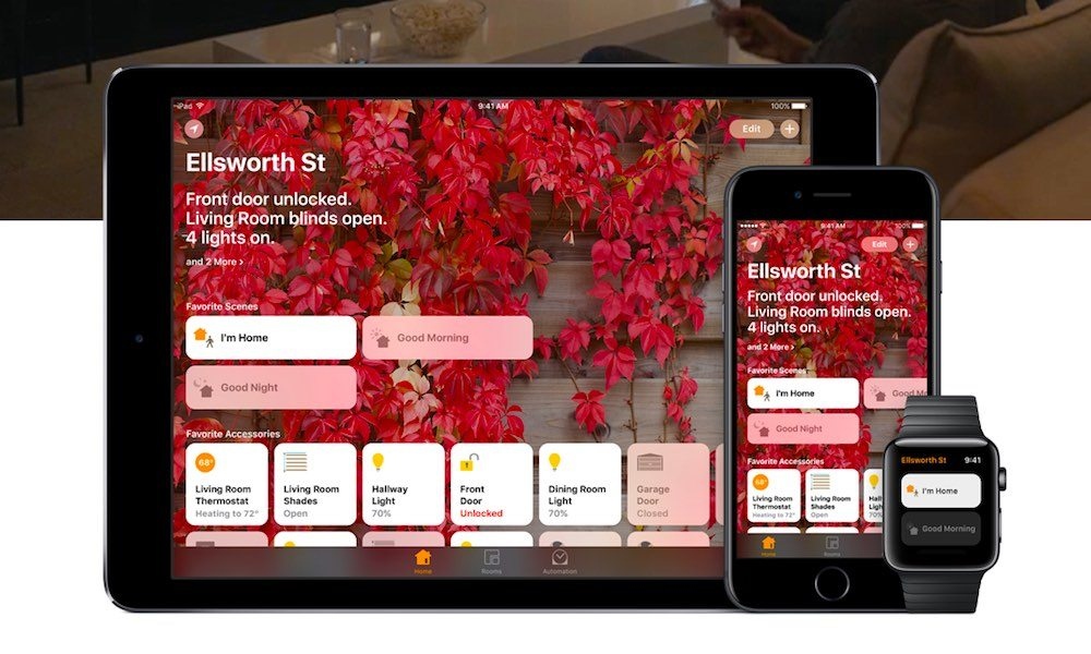 Apple's Refreshed Site Shows Conveniences of HomeKit