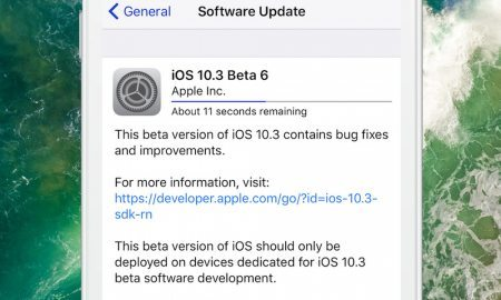 iOS 10.3 Beta 6 Officially Released to Developers