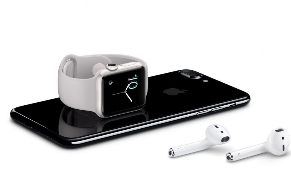 apple iphone7 watch airpods