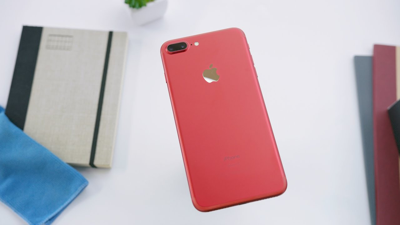 Win an iPhone 7 Plus Red - Mobil6000