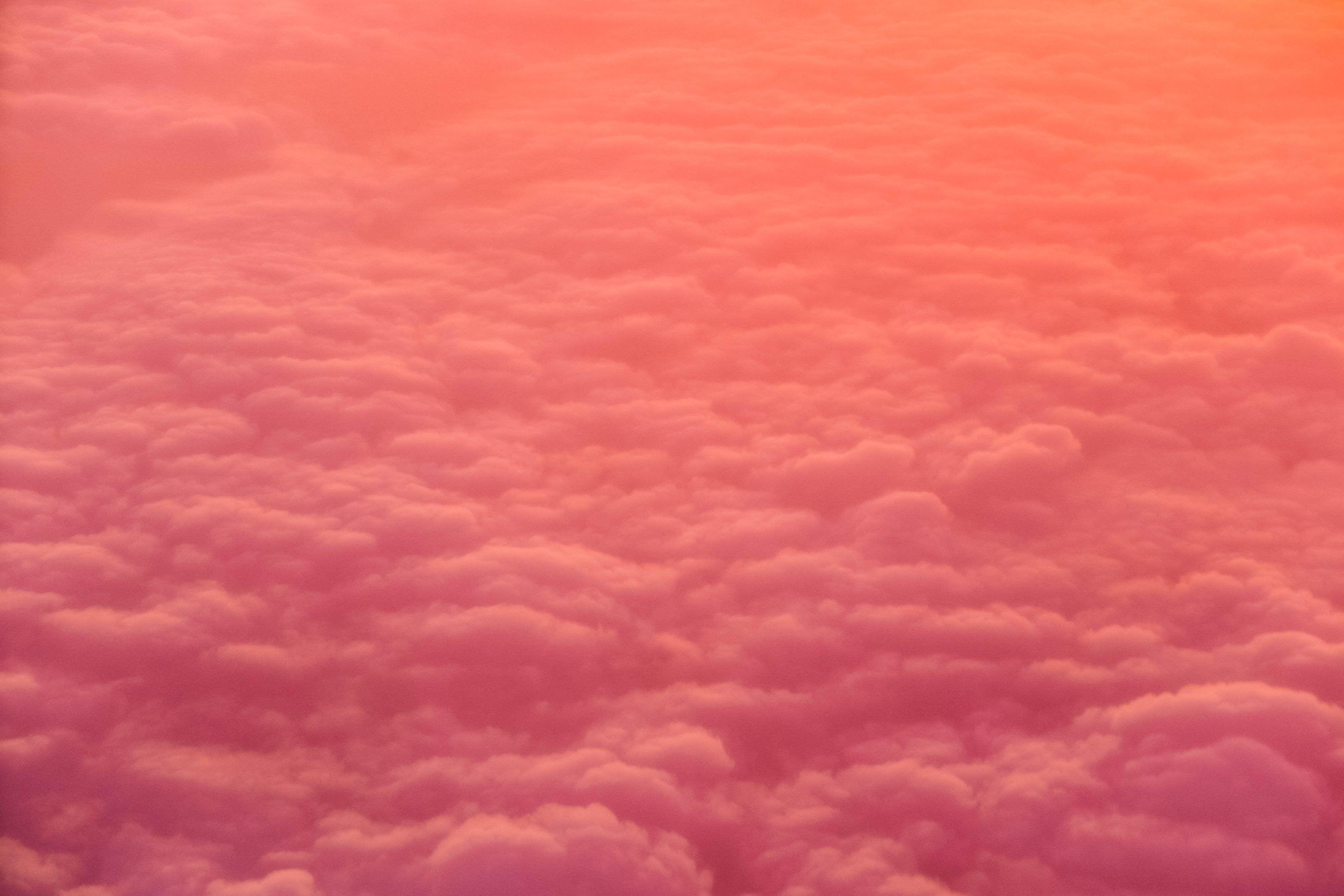 Pink Clouds Wallpaper Idrop News
