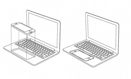 Apple Patent Envisions an iPhone Powered Touchscreen Laptop