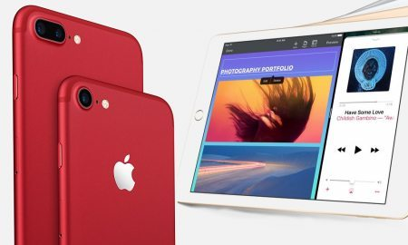 Red iPhone 7, New iPad, Updated iPhone SE Now Available
