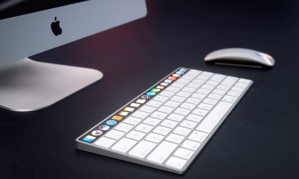 Apple Patents Hint at Magic Keyboard with OLED Touch Bar