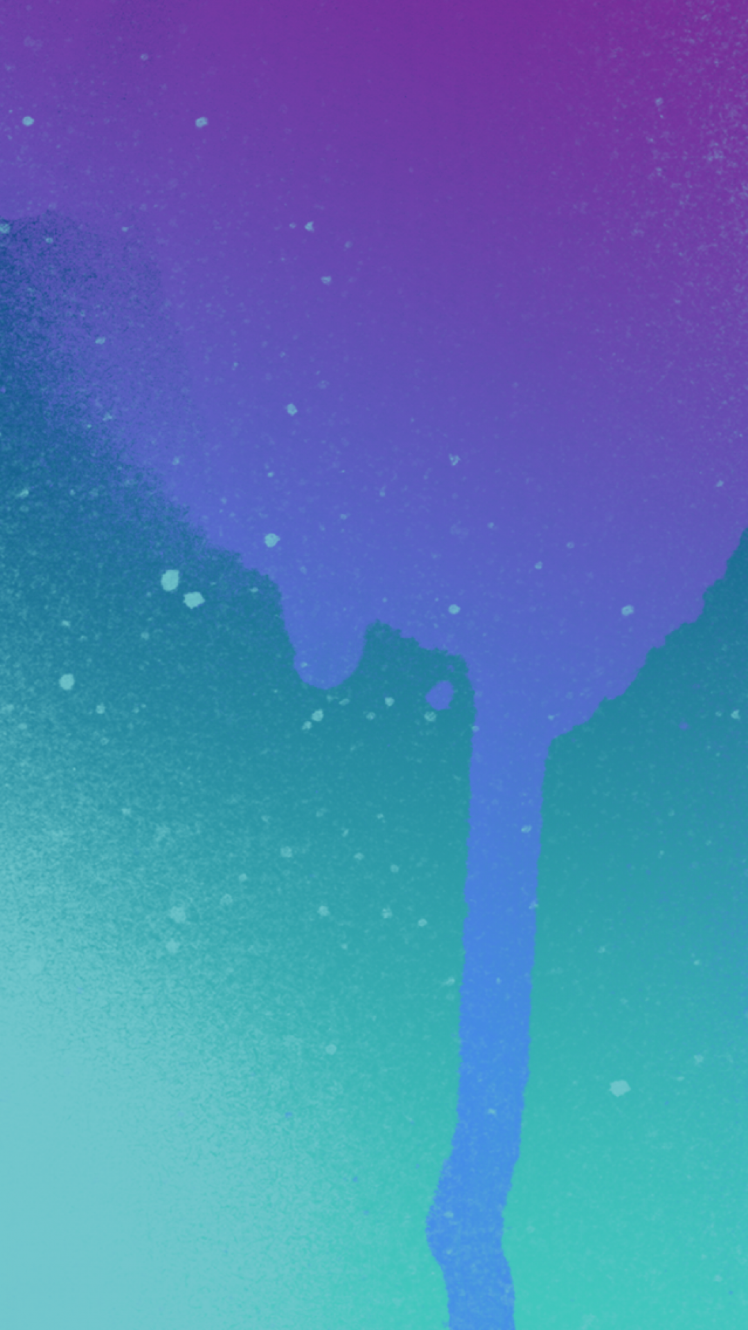 Purple Splatter iPhone Wallpaper