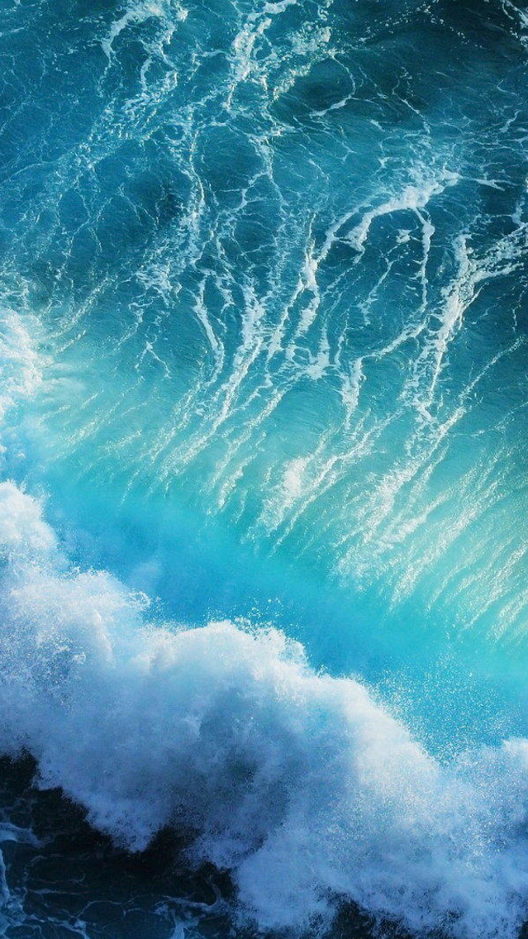 Pulse Waves iPhone Wallpaper