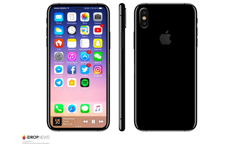 iPhone 8 iDrop News
