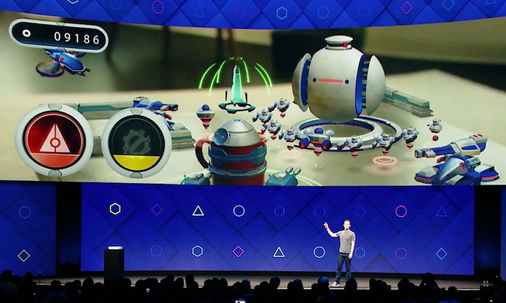 Mark Zuckerberg Lays out Vision for Augmented Reality