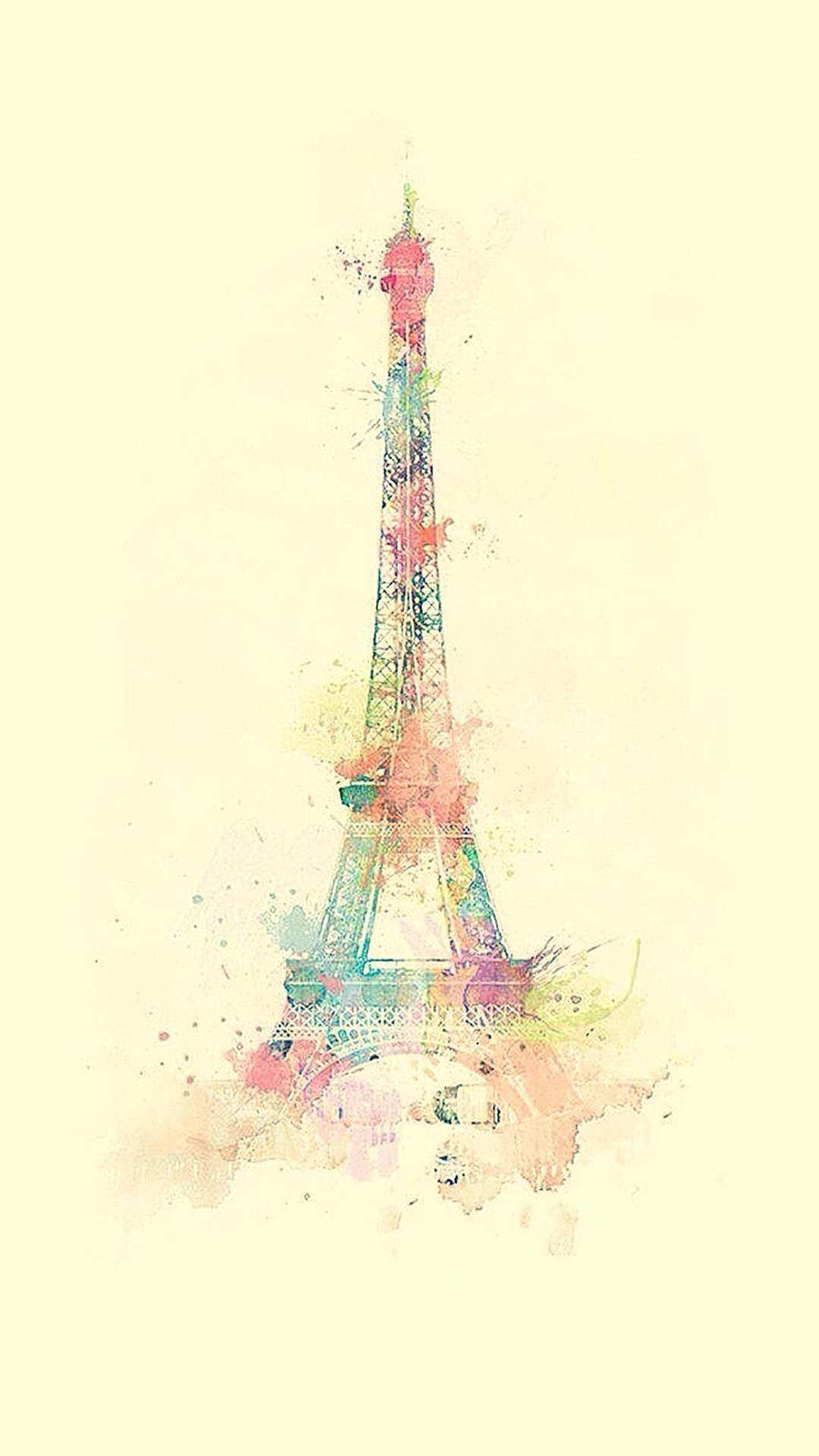 Eiffel Tower iPhone Wallpaper