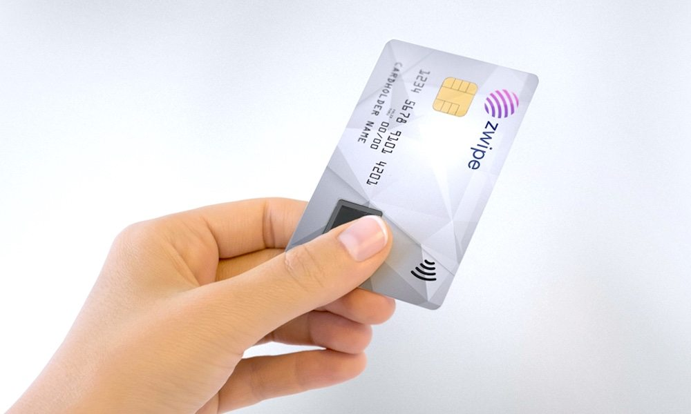 Zwipe Fingerprint Mastercard