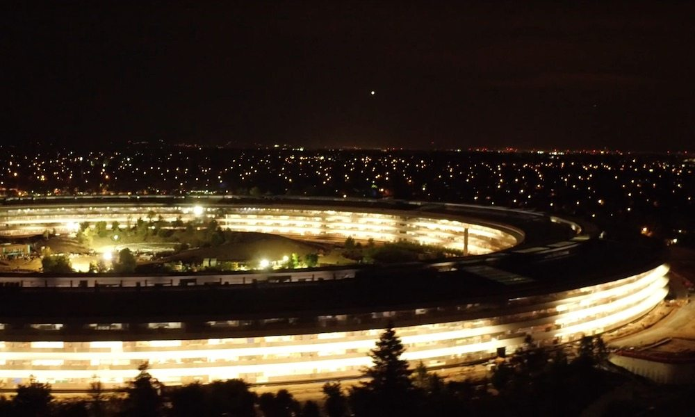 Apple Park After Dark