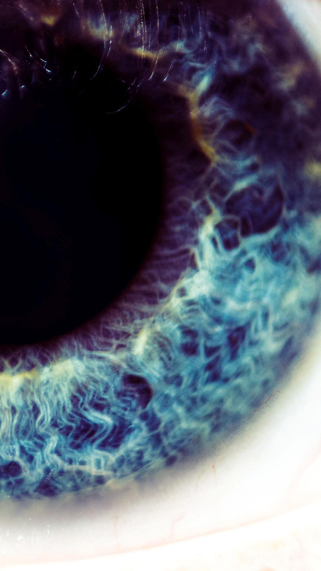 Blue Eye iPhone 7 Wallpaper