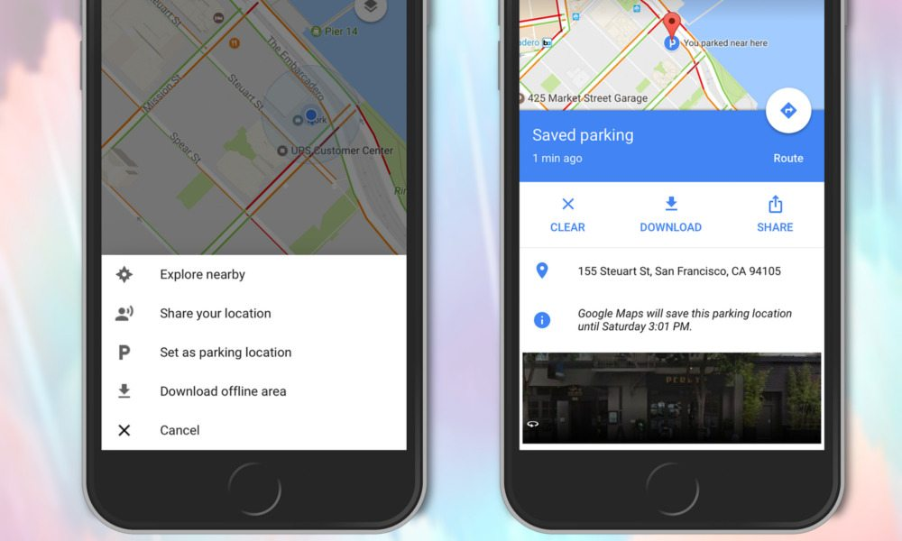 Google Maps Brings Parking Spot Reminders to iPhone