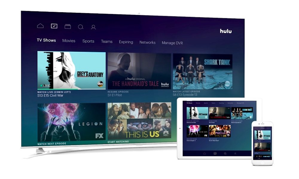 Hulu's Streaming Live TV Service Launches in Beta