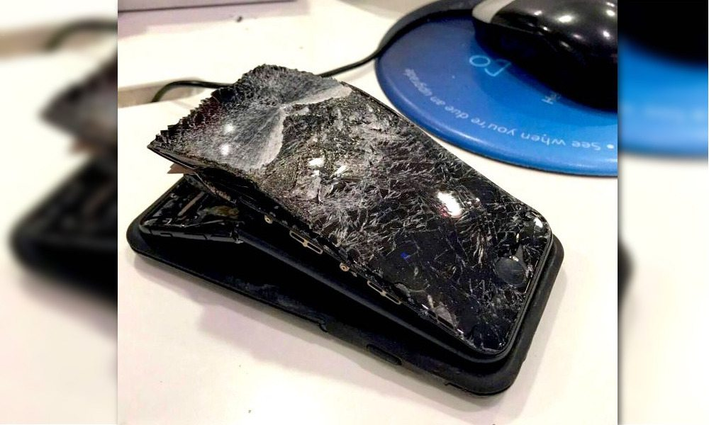 British Man Claims His iPhone Exploded When He Answered a Call