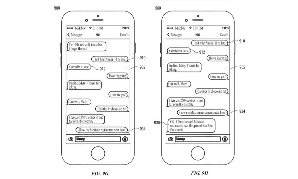 Siri iMessage Patents