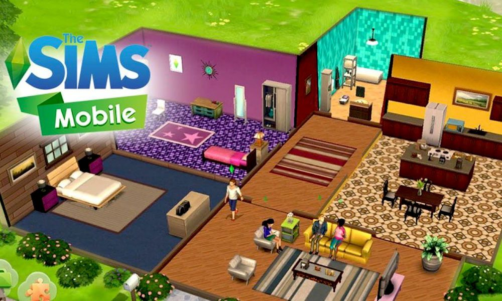 The sims mobile for ios includes all features in