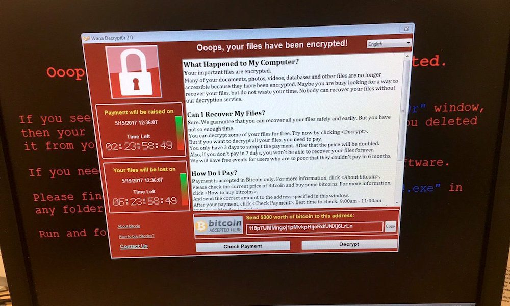 Hackers Launch Global Ransomware Attack 'WannaCry' Using Stolen NSA Exploit