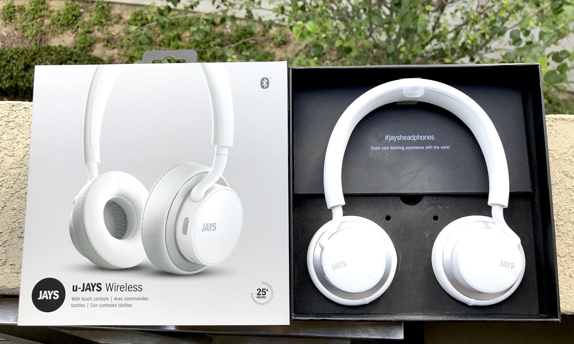 u jays by jays wireless bluetooth headphones review. Black Bedroom Furniture Sets. Home Design Ideas