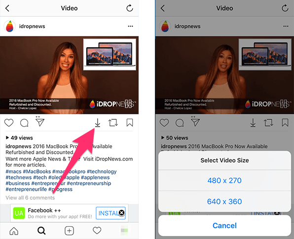 How to Save Photos, Videos, and Stories from Instagram to