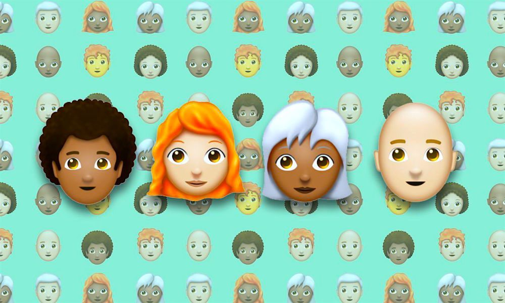 Redhead, Afro, and Bald Emojis Proposed for 2018