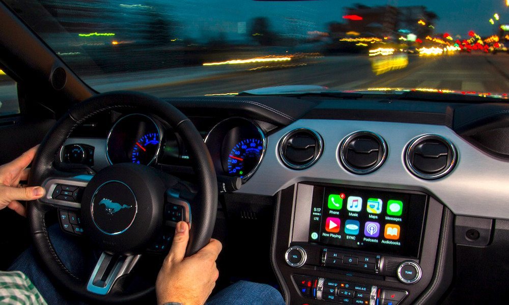ford sync 3 wireless update brings apple carplay to 2016. Black Bedroom Furniture Sets. Home Design Ideas