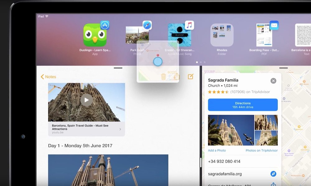 iOS 11 Concept Envisions Enhanced UI with Drag-and-Drop Feature