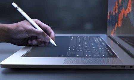 Apple Patent Application Hints at Virtual MacBook Keyboard