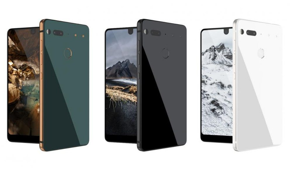 Android creator Andy Rubin unveils ceramic Essential phone, home control device