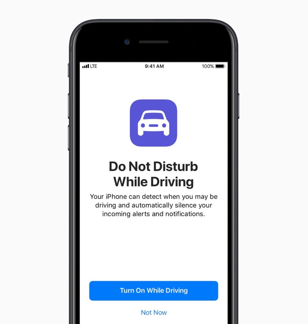 do not disturb while driving ios 11