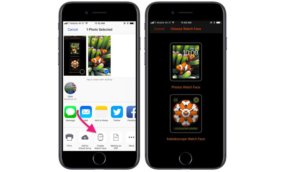 How to Create Custom Kaleidoscope Apple Watch Faces in iOS 11