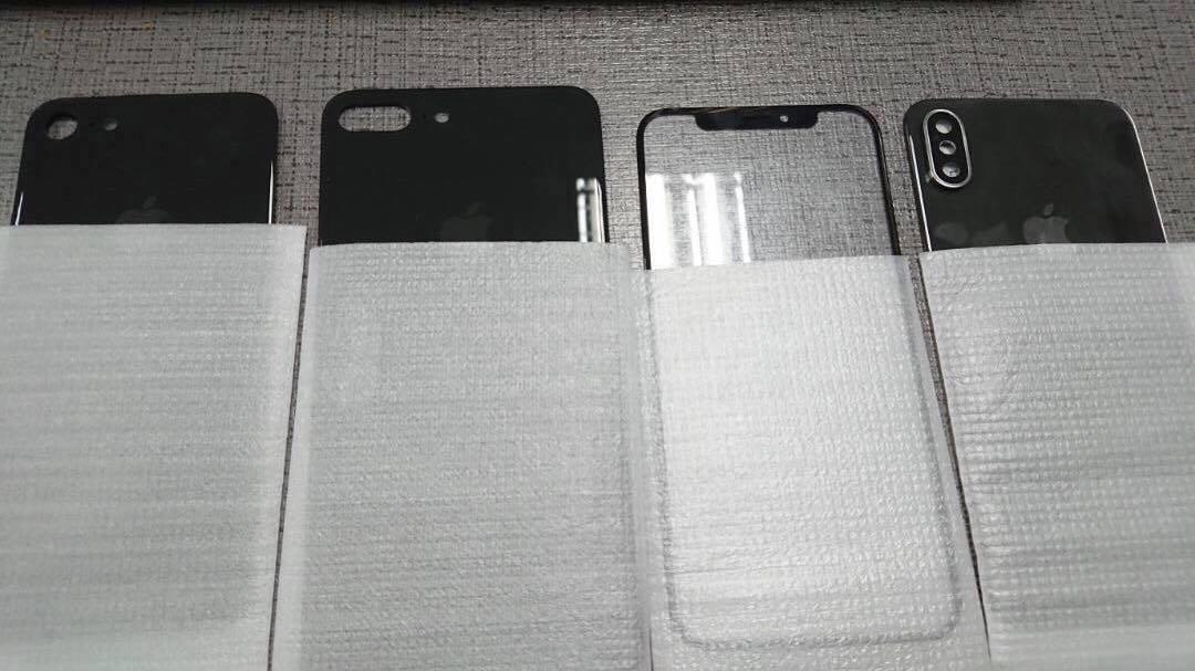 2017 iPhone lineup panels