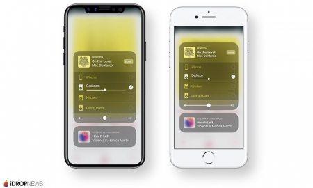 iPhone X iOS 11 Concept Image