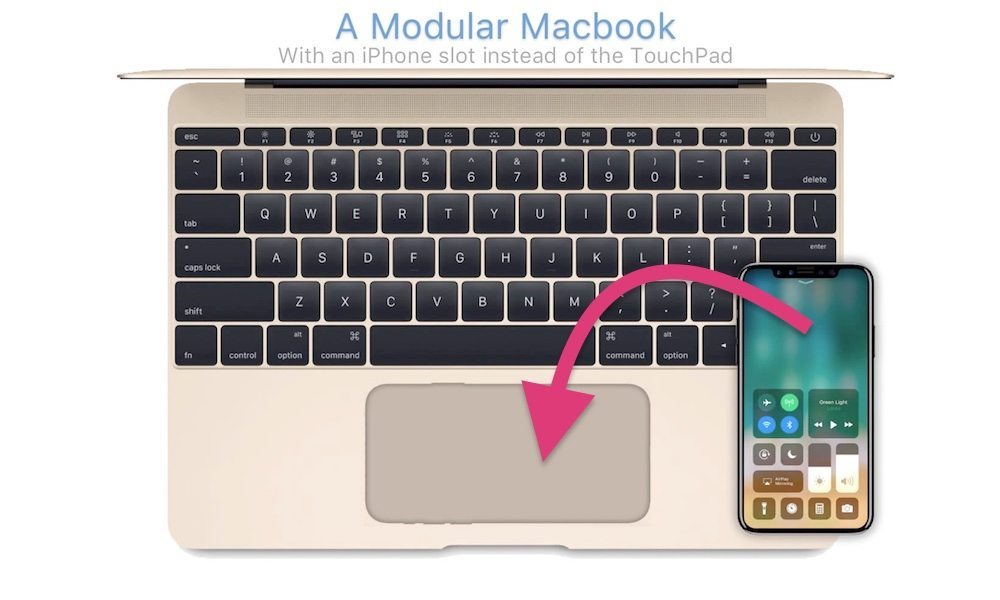 iPhone-Powered 'Modular MacBook' Envisioned in New Video