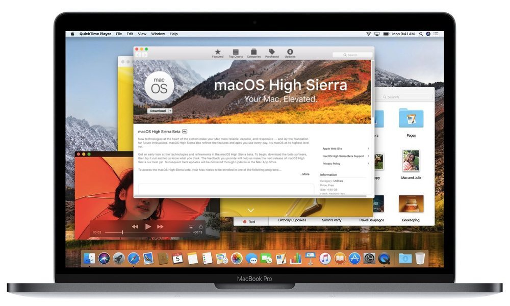 Apple Seeds 3rd Public Betas of macOS High Sierra, tvOS 11