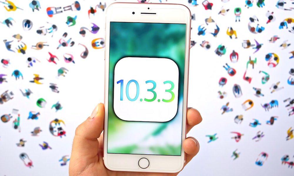 IOS 10.3.2 vs iOS 10.3.3 Beta 6