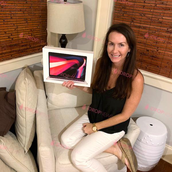 Bridget T iDrop New MacBook Pro Giveaway Winner July 2021