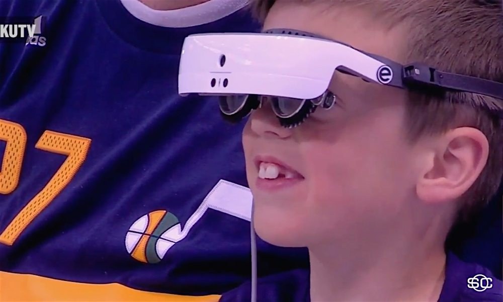 Revolutionary AR Headset Helps the Legally Blind See