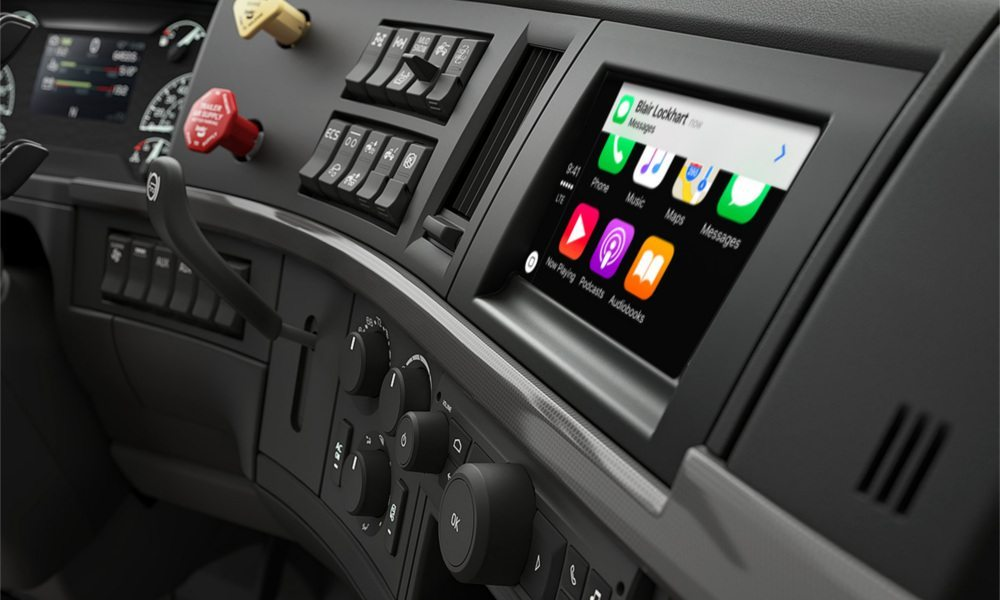 Volvo Unveils Its First Semi Truck with CarPlay