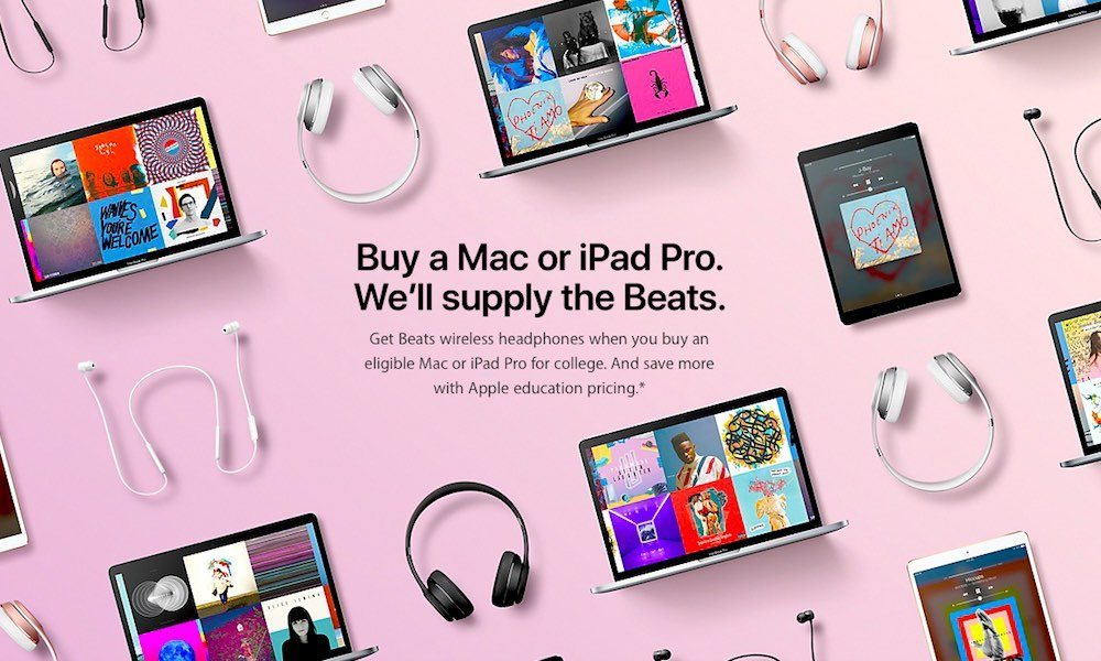 Apple Unveils 2017 Back to School Promo in the United States, Canada