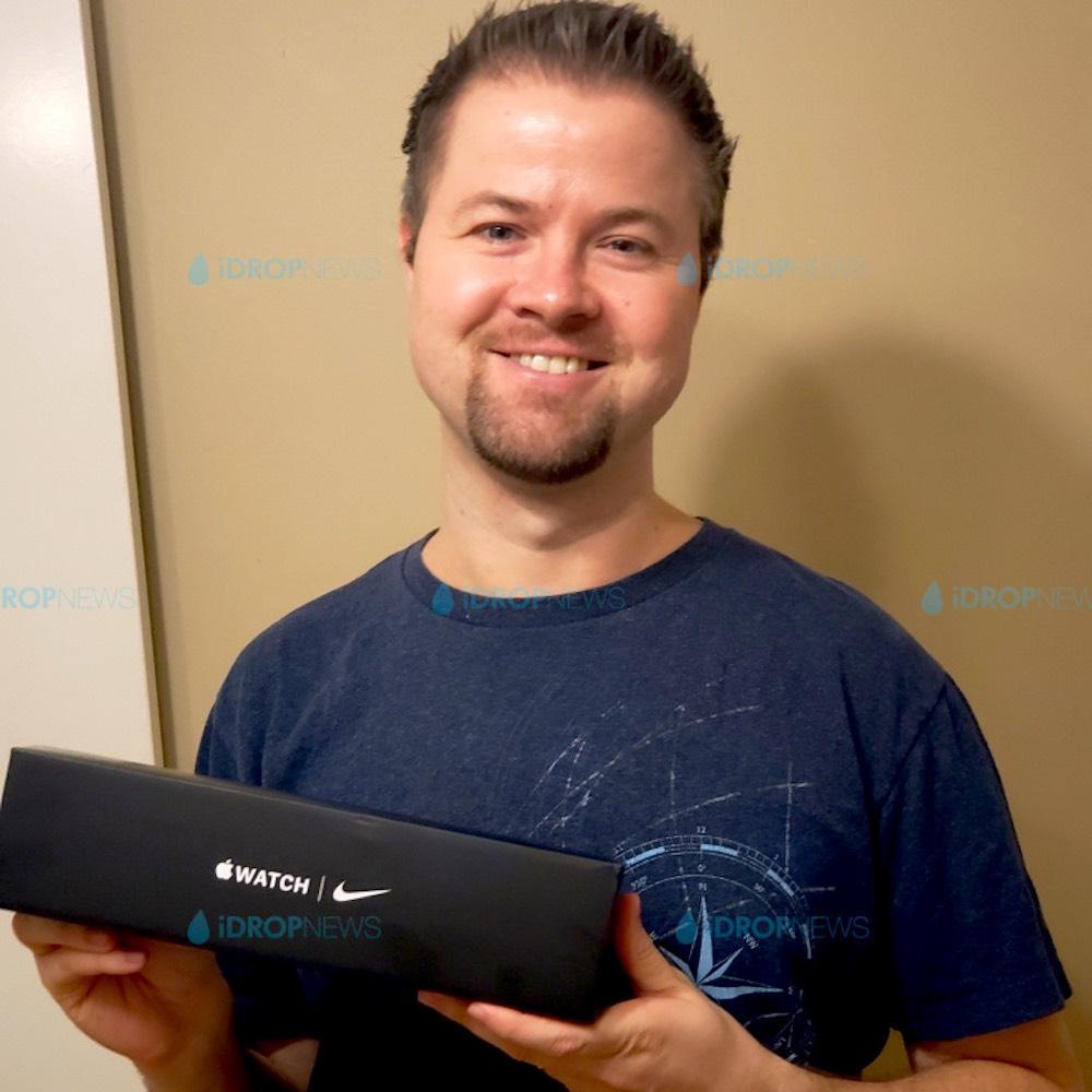 iDrop News Apple Watch Giveaway Winner Tim E September 2020