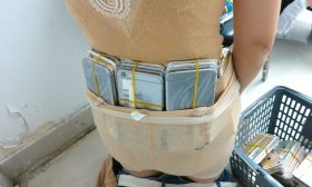 Woman Caught Smuggling 102 iPhones Under Her Clothes