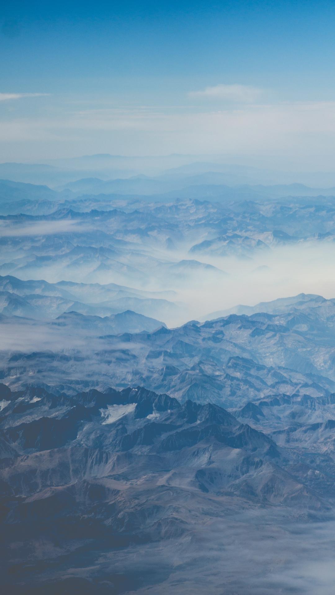 Mist Below iPhone Wallpaper