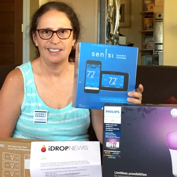 Alice R Idrop News Smart Home Kit Giveaway Winner August 20 2019