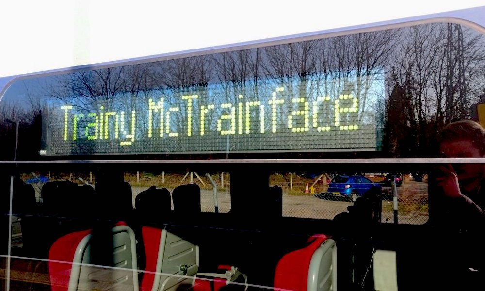 Swedish people want their train to be called 'Trainy McTrainface'